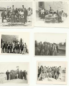 صور رحلة طلاب المدرسة المباركية ومدرسيهم الى بغداد مرورا بالبصرة 1951