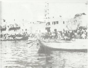 يافا عند الرحيل ابريل (نيسان) 1948